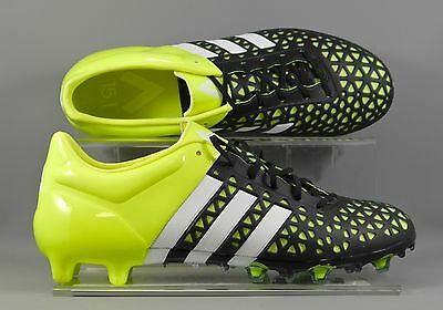 Adidas (B32857) ACE 15.1 FG/AG adults football boots - Black/Yellow