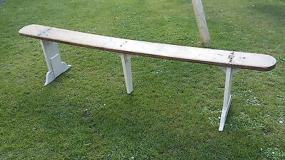 Antique Victorian Pine bench /pew / seat collect Dorset