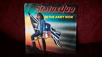 Status Quo In The Army Now 7'' Record