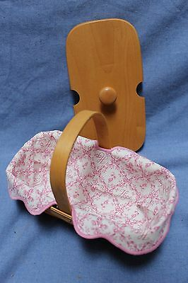 Longaberger 2000 American Cancer Society Basket with Lid and Liner