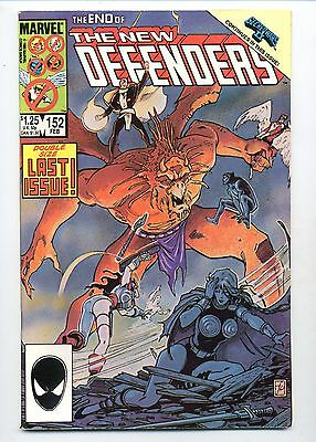 New Defenders #152      Double Size Last Issue