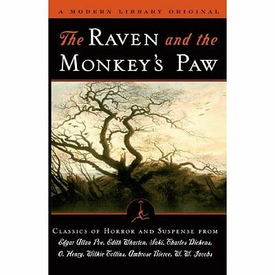 The Raven and the Monkey's Paw (Modern Library) - Paperback NEW Poe, Edgar Alla