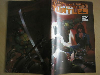 TEENAGE MUTANT NINJA TURTLES # 2 .By EASTMAN & LAIRD. 3rd PRINT. MIRAGE. 1986