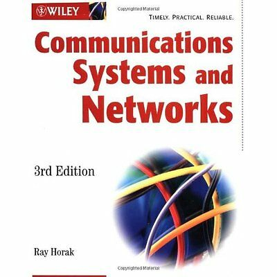 Communications Systems and Networks - Paperback NEW Ray Horak 2002-08-22