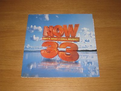 Now That's What I Call Music 33 - 2lp - 1996 - Double Vinyl - Rare Album