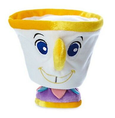 Disney Store Beauty and the Beast Chip the Teacup 5 inch Stuffed Plush Doll NEW