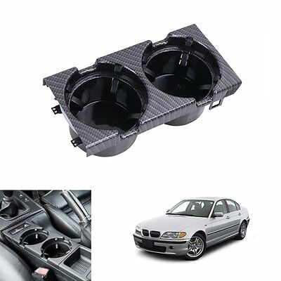 Front Center Console Drink Cup Holder For BMW 3 Serie E46 325i 330i M3 2000-2006