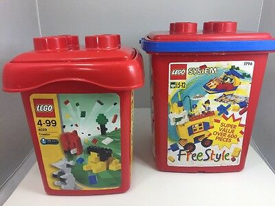 2 Lego Large Storage Containers From Set 4029 1796