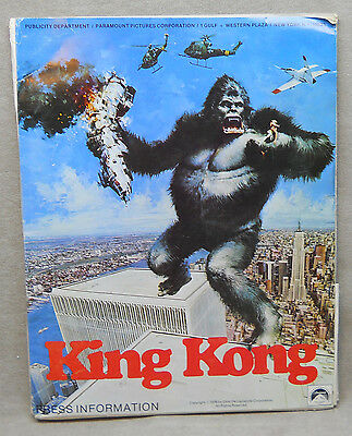 1976 Movie Press Kit for King Kong with Jessica Lange.