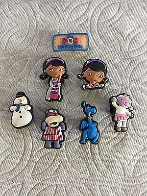 Cartoon Doctor Shoe Charms Chilly Lambie Hallie Stuffy Shoe Charms Fits Crocs