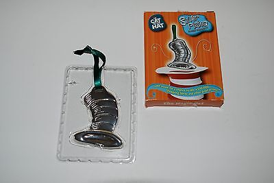 "Dr. Seuss CAT IN THE HAT Silver Plated Classic Ornament ""The Magic Hat"""