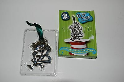 Dr. Seuss CAT IN THE HAT Silver Plated Classic Ornament Picture Perfect Thing 2