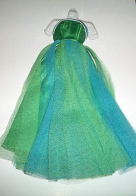 Vintage BARBIE SENIOR PROM 1964 #951 GREEN EVENING DRESS REPRO REPRODUCTION
