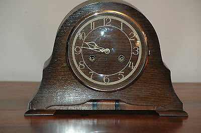 Antique Enfield Oak Case Mantle Clock,restore.