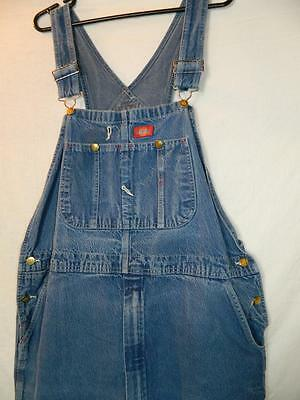 """DG029 Vintge 1990's dungarees by Dickies, chore/workwear, rockabilly, retro W44"""""""