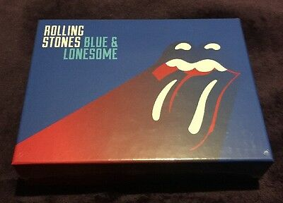 The Rolling Stones Blue & Lonesome Deluxe Box Set New & Sealed