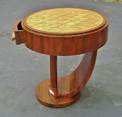 Perfectly shaped Very Large Art Deco Style side table