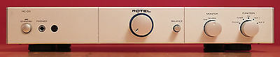 Rotel RC 03 pre-amplifier with phono stage.  Boxed with remote and manual.