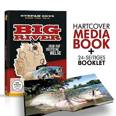 Stefan Seuß Big River DVD - Welsangeln in Deutschland, Wallerangeln Fluss