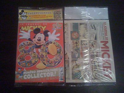 Collector Journal De Mickey 80 Ans Blister Minnie Donald Picsou Dingo Pat Disney