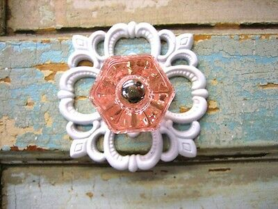 Shabby N Chic GLASS knob furniture  Appliques WHOLESALE