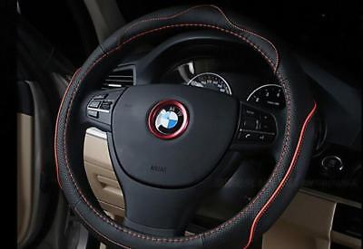Bmw All Models Steering Wheel Centre Emblem Red Colour Surround Upgrade Cool