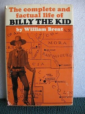The Complete & Factual Life of Billy The Kid 1st Edition 1964