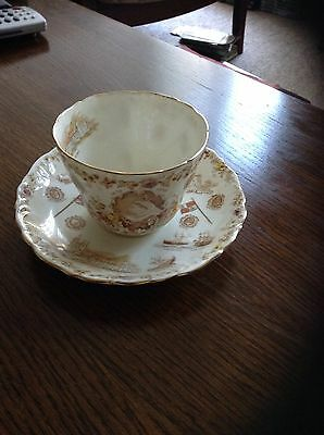 Queen Victoria Cup And Saucer Set
