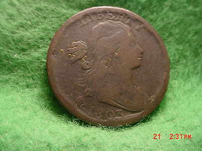*1803 Draped Bust  Cent, Very Good  Small Date, Small Fraction