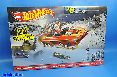 HOT WHEELS Advent calendar 2016 by Mattel