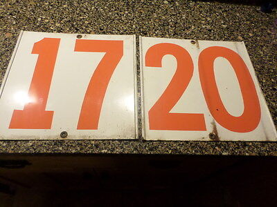 vintage gulf gas station numbers