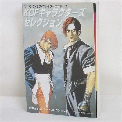 KOF CHARACTERS SELECTION King of Fighters Postcard Art Illusration Book SI