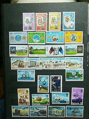 Bermuda lot of 7 mint never hinged sets