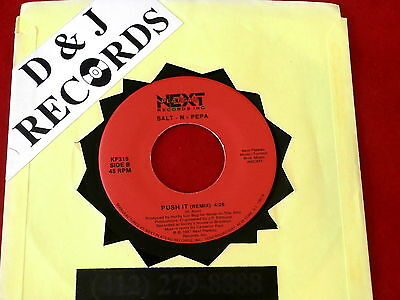 Salt N Pepa~ Push It~ Tramp~ Unplayed Store Stock~ Next Plateau~ R&b 45