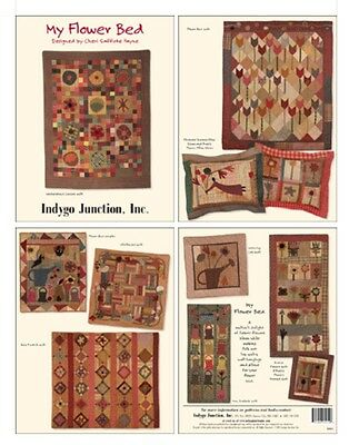 Quilt Pattern Book - My Flower Bed - Quilts Sampler Projects