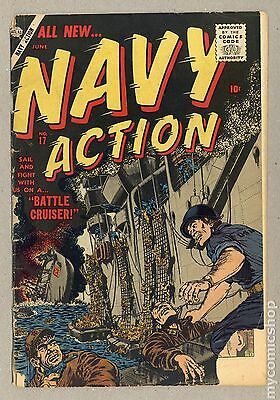 Navy Action (1954) #17 GD- 1.8