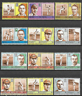"ST. VINCENT - MNH ""Leaders Of The World - CRICKET PLAYERS"" Collection !!!"