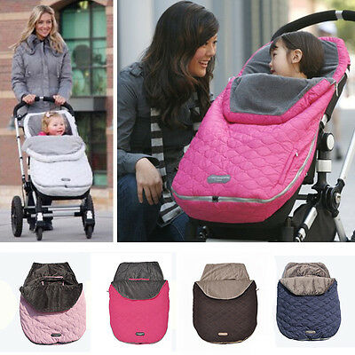 Winter Baby Infant Sleeping Bag Footmuff Cosy Toes For Car Seat Pram Stroller