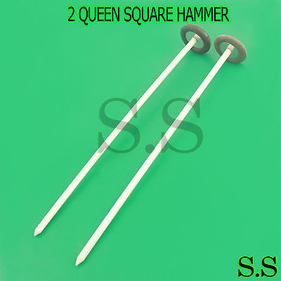 "NEW SET OF 2 EACH QUEEN SQUARE Hammer Medical Surgical Instrument 13"" A+QUALITY"
