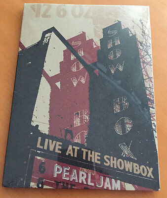 PEARL JAM Live At The Showbox DVD Seattle 2002 SEALED MINT full show REGION 0