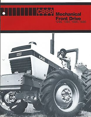 Farm Tractor Brochure - Case Mechanical Front Drive 1290 1390 1490 1690 (F4950)