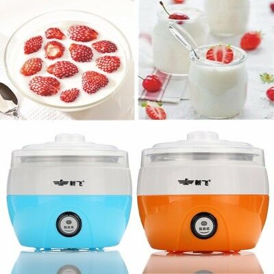 Stainless Steel Automatic Yogurt Maker DIY Yoghurt Container NEW