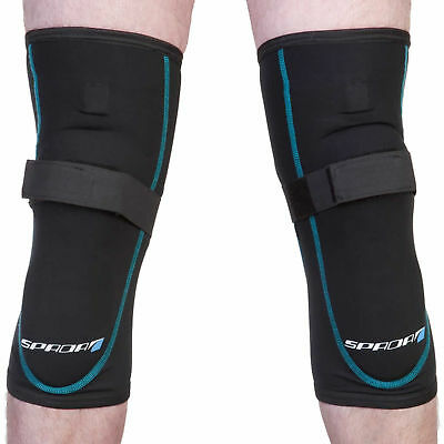 New Spada Motorycle Bike Accessories Riding Protection Knee Armour Black Pair