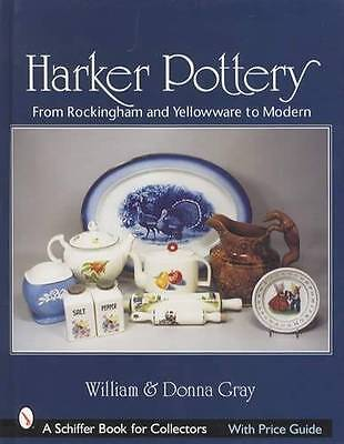 Harker Pottery Collector Guide incl Dinnerware Patterns, Rockingham, Yellow Ware