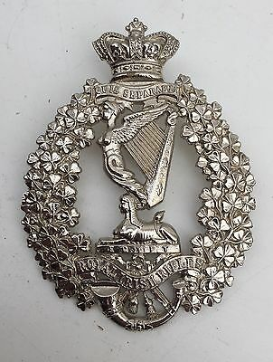 Victorian Officers Royal Irish Plate