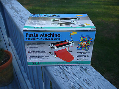Pasta Machine For Use With Polymer Clays New In Box