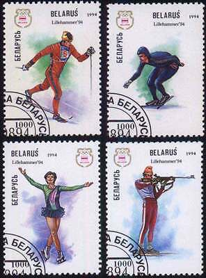BELARUS (02/1) 1994 Olympic Games Sports Used 4 diff. Stamps ! Gift Children !