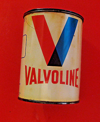 Vintage Valvoline Grease Advertising Oil Grease Can ~ Ashland Freedom Pa. ~