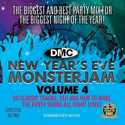 DMC New Years Eve Monsterjam Vol 4 Megamix Music DJ CD Mixed Timed Countdown
