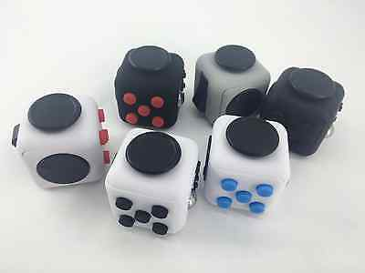 Fidget Cube Desk Toy Stress Anxiety Relief Christmas Stocking Stuffer Adult Kids
